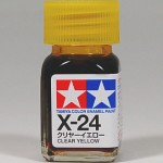 TAMIYA COLOR X-24 CLEAR YELLOW
