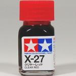 TA 80027 X-27 Clear Red