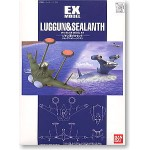 "1/144 EX-12 TROOP PLANES SET FOR ZEON ""Luggun and Sealanth"""