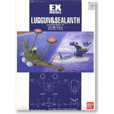 """1/144 EX-12 TROOP PLANES SET FOR ZEON """"Luggun and Sealanth"""""""
