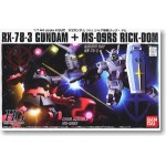 1/144 HGUC RX-78-3 Gundam + MS-09RS Rick Dom Char`s Custom Set
