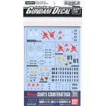 Gundam Decal for (1/144) Gundam Char`s Counter Attack E.F.S.F.