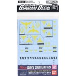 Gundam Decal for (1/144) Gundam Char`s Counter Attack Neo Zeon