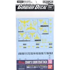 Gundam Decal for (1/144) Gundam Char`s Counter Attack Neo Zeon