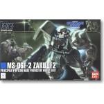 1/144 HGUC 105 MS-06F-2 Zaku II Type F2 (Zeon Ver.)