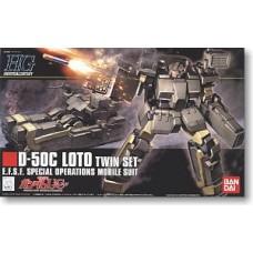 1/144 HGUC 106 D-50C Loto Twin Set
