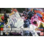 1/144 HGBF Master Gundam & Fuunsaiki