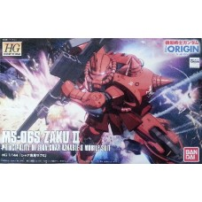 1/144 HGOrigin Char Aznable`s Custom Zaku II (THE ORIGIN)