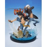 Figuarts Zero Monkey D. Luffy & Trafalgar Law -5th Anniversary Edition- (PVC Figure)