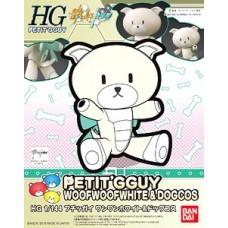 1/144 HGPG Petitgguy Bow-wow White & Dog Costume