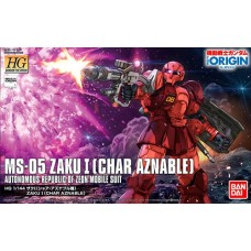 1/144 HGOrigin 015 Zaku I (Char Aznable`s)