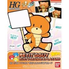 1/144 HGPG Petitgguy Rusty Orange & Placard