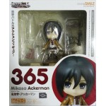 No.365 Nendoroid Mikasa Ackerman + Bouns [Lot Web GSC]