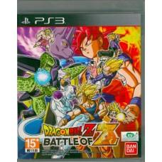 PS3: Dragon Ball Z Battle of Z (Z3)