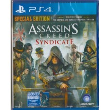 PS4: ASSASSIN'S CREED SYNDICATE SPECIAL EDITION (Z-3)