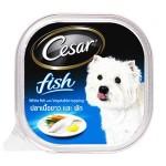 ซีซาร์ Cesar ชนิดเปียก รสปลาเนื้อขาวและผัก 100 g