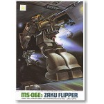 1/144 MSV MS-06E-3 Zaku Flipper