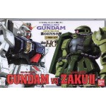 1/144 HG Gundam The 08th MS Team Gundam VS Zaku II