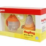 พีเจ้น Pigeon ถ้วยหัดดื่มพีเจ้น รุ่นแม็ก แม็ก แบบครบชุด สำหรับเด็ก 3 เดือนขึ้นไป
