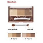 Cezanne Nose & Eyebrow powder *01 Camel