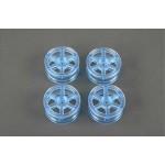 TA 49403 Medium-Narrow 6-Spoke Wheels (Clear Blue/+2)