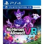 PS4: NoHeroes Allowed! VR (R3)(EN)