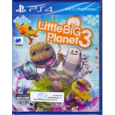 PS4: LittleBigPlanet 3 (English)