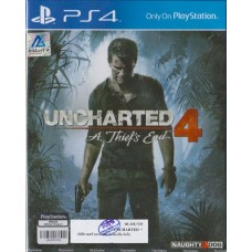 PS4: Uncharted 4: A Thief's End (ZALL)(EN)
