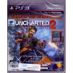 PS3: UNCHARTED 2: Among Thieves Game of the Year Edition (Asian Chinese+English)
