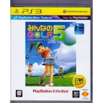 PS3: Everybody Golf 5 (the best)