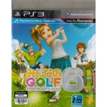 PS3: Everybody's Golf 6 (Z3)(JP)