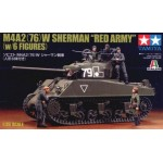 25105 1/35 M4A2 Red Army w/Figures