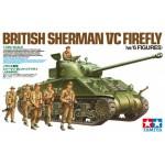 25174 1/35 Sherman VC Firefly &6fig.