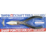 74123 Tamiya Craft Tools Sharp Pointed Side Cutter (Slim Jaw) คีมเทพ 2