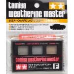87123 Tamiya Weathering Master F Set (Titanium, Light Gunmetal, Copper)