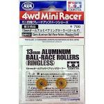 TA 94862 13mm Aluminum Ball-Race Rollers (Ringless/Glod)