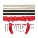 TA 95011 Brake Set (AR Chassis) (Red)