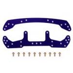 TA 95051 Duralumin Wide F/R Plate (Violet)