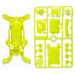 TA 95202 AR Fluorescent-Color Chassis Set (Yellow)