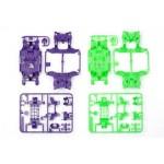 TA 95234 MS Chassis Set (Purple/Green)