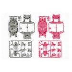 TA 95235 MS Chassis Set (Silver/Pink)