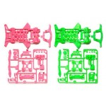 TA 95240 Super XX Fluorescent-Color Chassis Set (Pink/Green)
