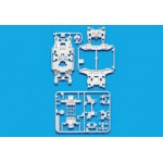 TA 95246 MS Reinforced Chassis Set (White)