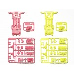 95249 Super II Fluorescence Chassis (Pink/Yelow)