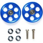95315 HG Lightweight 19mm Aluminum Ball-Race Rollers (Ringless/Blue)