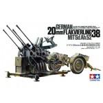 TA 35091 German 20mm Flakvierling 38 Mit Sd.Ah.52