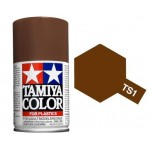 TAMIYA 85001 COLOR TS-1 RED BROWN