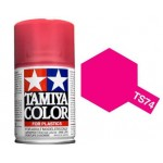 TAMIYA 85074 COLOR TS-74 CLEAR RED