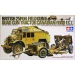 35044 Br. 25 PDR. Gun & Quad Tractor