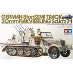 TA 35050 German 8 ton HALF TRACK Sd.kfz 7/1